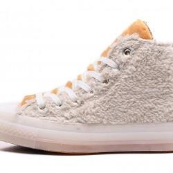 Clot x Converse Back Zip Winter High Top Shoes