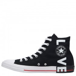 Converse All Star Fear Love High Tops Black