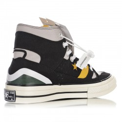 Converse Chuck 70 E260 High Black Yellow Sneakers