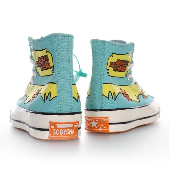 Converse Chuck 70 HI x Scooby Doo The Mystery Machine