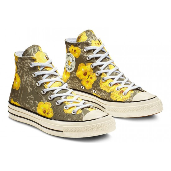 Converse Chuck 70 Paradise Floral High Top Womens Shoes