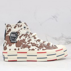 Converse Chuck Taylor All Star 70s Hi Brain Dead Cow Spotted Shoes