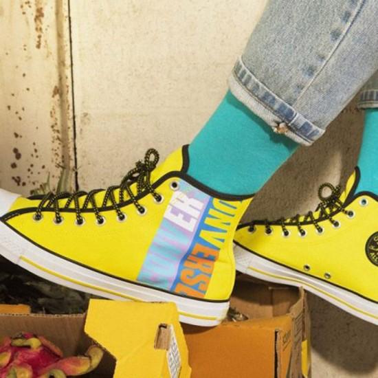 Star Boardies Fresh Yellow High Tops