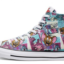 Converse Chuck Taylor All Star Tom and Jerry High Tops Shoes