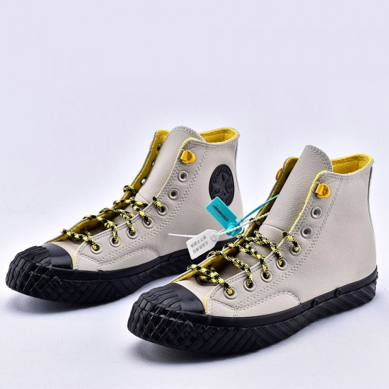 Empuje símbolo Departamento  Converse Gray Bosey Water-repellent Chuck 70 High Tops Leather Shoes