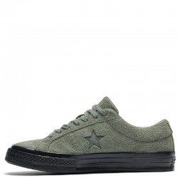 Converse One Star Ox Vintage Stussy Army Green