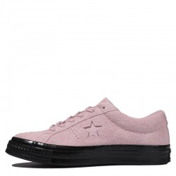 Converse One Star Stussy Pink Suede Leather Sneakers