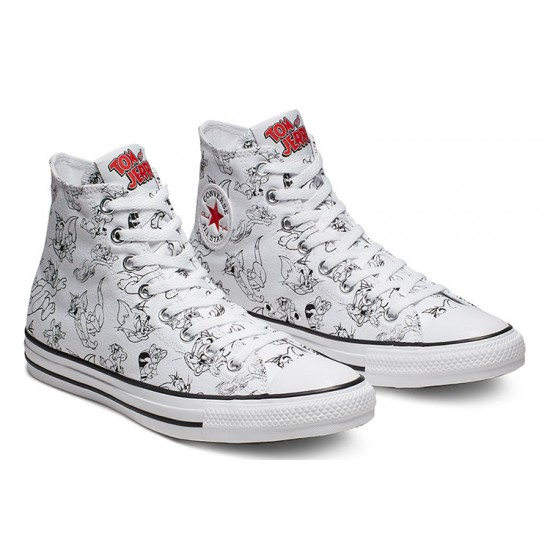 Converse Tom and Jerry Chuck Taylor All Star 1970s High Top