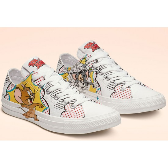 Converse Tom and Jerry Chuck Taylor All Star Low Top