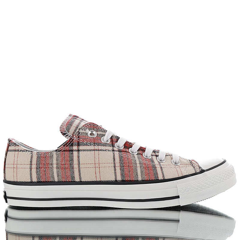 Converse WoolCheck Plaid All Star Low
