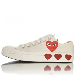 Converse X Comme Des Garcons Play All Star Chuck 70 Ox Multi Heart Low