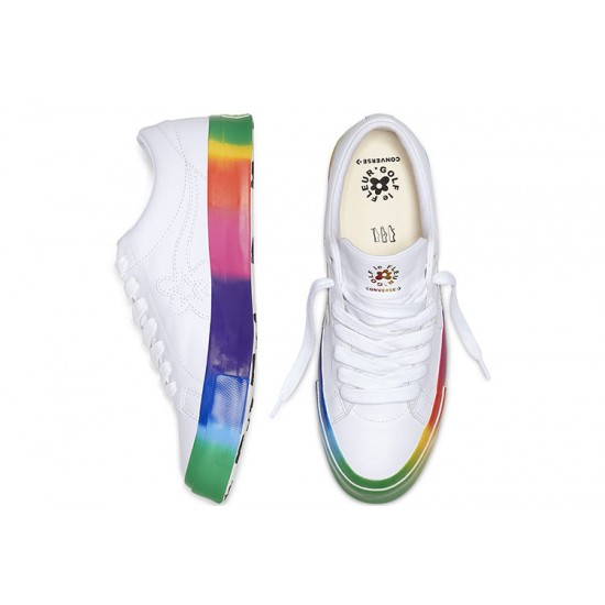 Converse x Golf le Fleur Rainbow One Star Low Top
