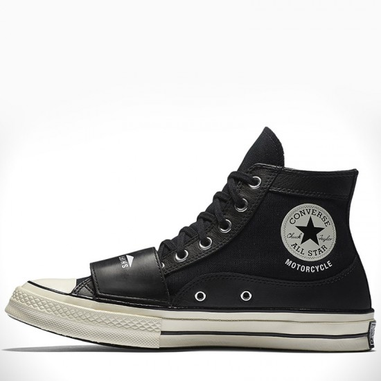Converse x Neighborhood Motorcycle Chuck Taylor Black Shoes