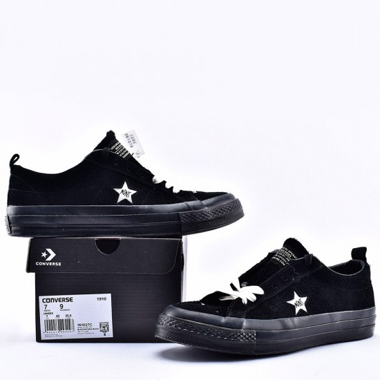 Madness x Converse One Star Black Suede Low Top