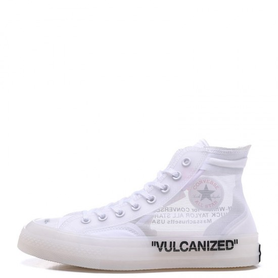 Off White x Converse The Ten Chuck 70 Transparent High White
