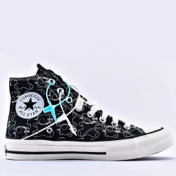 Teddy Bear Covered Undercover x Converse Addict Chuck Taylor Black High Top