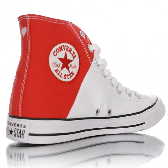 Tom and Jerry x Converse Chuck Taylor All Star High Top White Red
