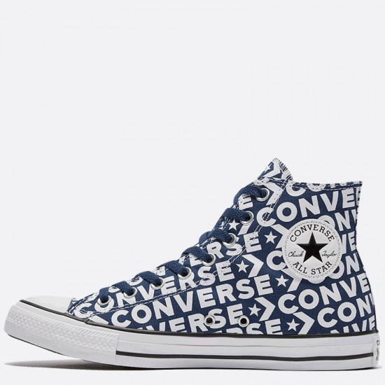 Vintage Converse Chuck Taylor High Tops Blue