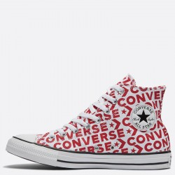 Vintage Converse Chuck Taylor High Tops Red