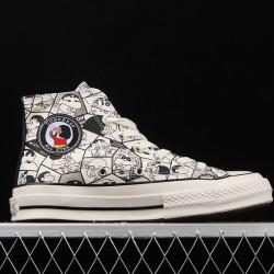 White Crayon Shin-Chan Converse Chuck Taylor All Star High Top Shoes