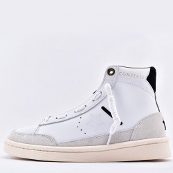 White Ibn Jasper Edition Pro Leather Mid Sneakers