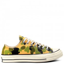 Converse Chuck 70 Camo Cover Low Top All Star Shoes