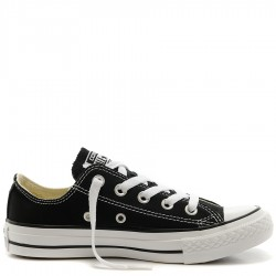 Converse Chuck Taylor All Star Black Canvas Low Top