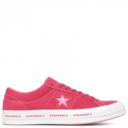 Converse One Star Ox Pink Low Top Suede Shoes
