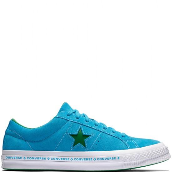 Converse One Star Ox Pinstripe Hawaiian Ocean Jolly Green