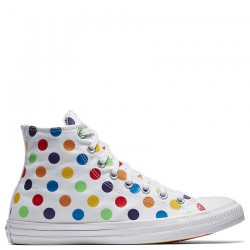 Converse Pride x Miley Cyrus Chuck Taylor All Star High Top White