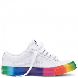 Converse x Golf le Fleur Rainbow One Star Low Top