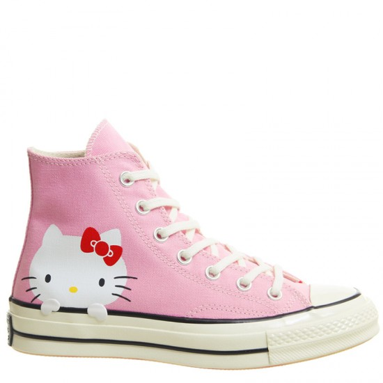 Hello Kitty Shoes Converse x Hello Kitty 70s Pink Womens Shoes High