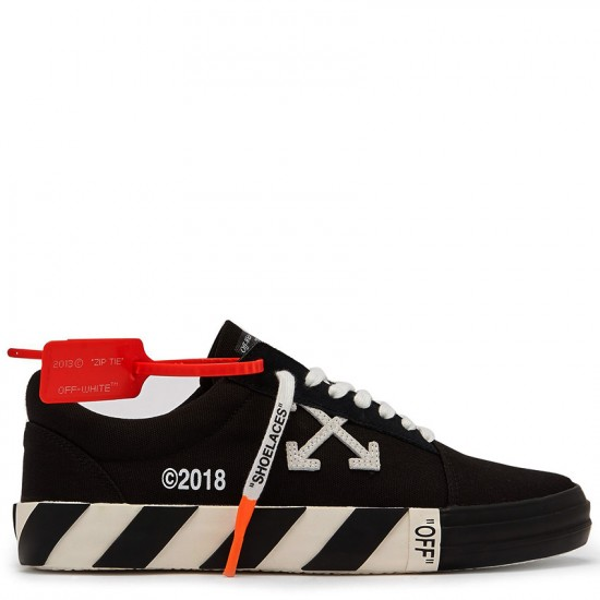Converse x Off-White Virgil Abloh Vulc Black Low Tops