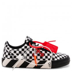 Converse x Off-White Virgil Abloh Vulc Checkerboard Low Tops