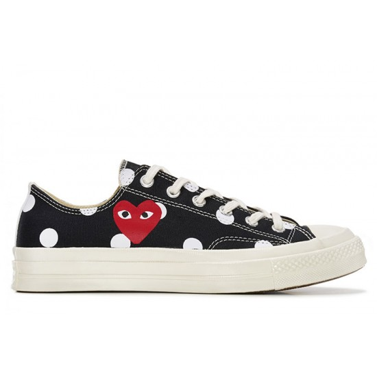 NEW HOT STYLE COMME DES GARCONS PLAY Chuck Taylor x CONVERSE White Black